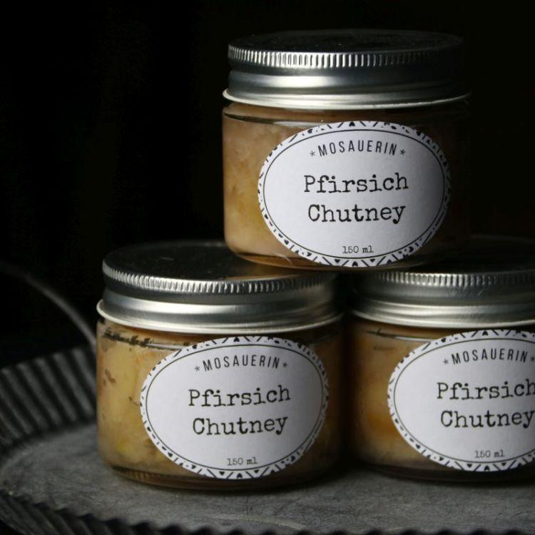 Pfirsich Chutney