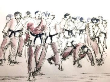 Cours de dessin Paris (Karaté)