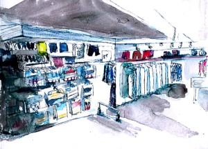 Forum des Halles Cours dessin et aquarelle