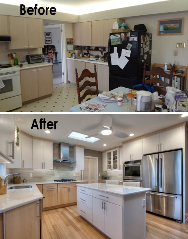 small kitchen remodel before and after pictures html 2