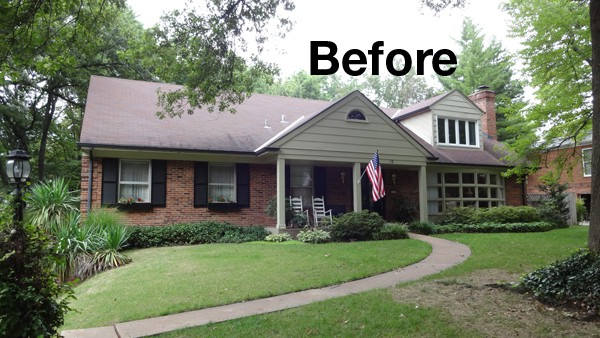The Before And After Story Of A St. Louis Exterior Update