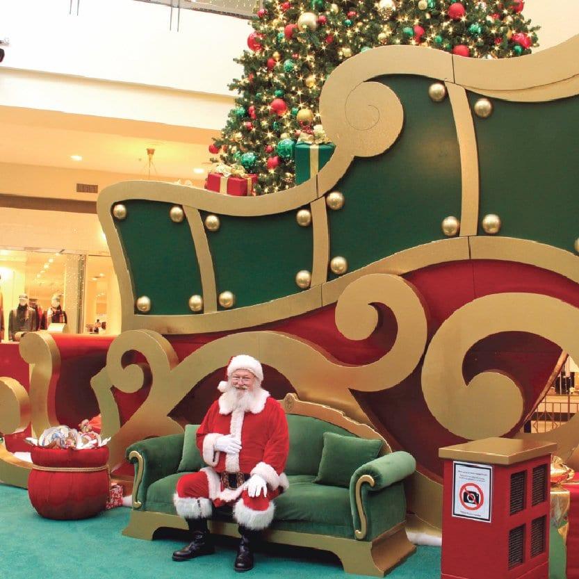 Commercial Santa Displays Shop
