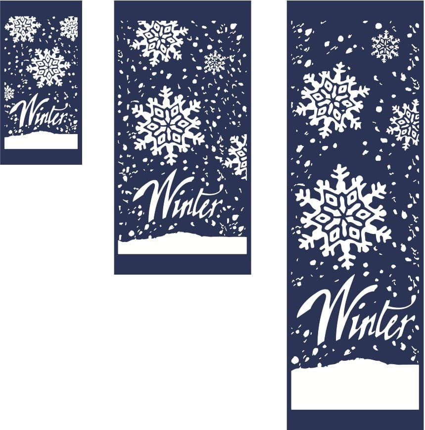 Fall/Winter/Holiday Banners