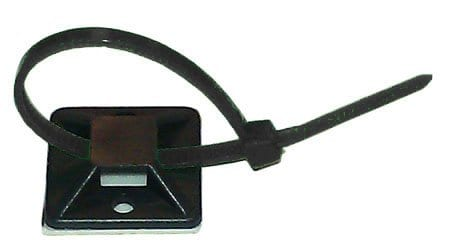 Square Tab with Zip Tie