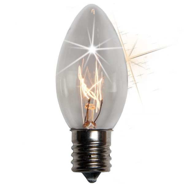 C9 Incandescent Twinkle replacement lights