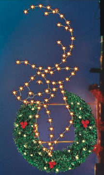 Reindeer PMWW-550 Pole mounted Decor