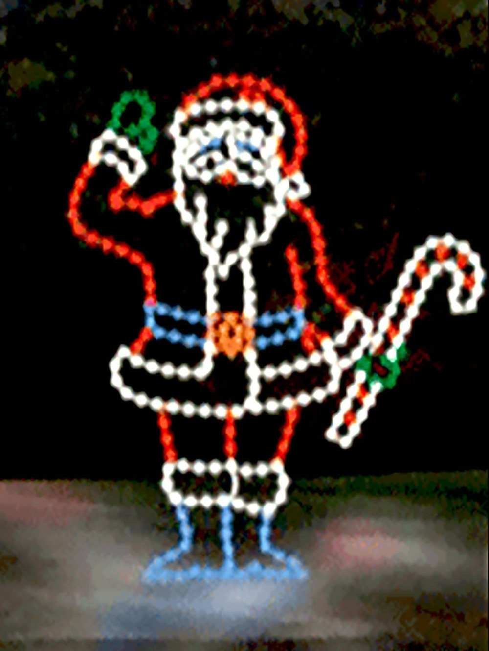 SSTL-122 Santa with Candy Cane