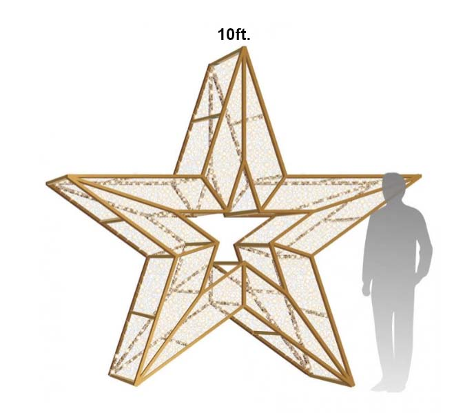10ft Star Icon Photo Op