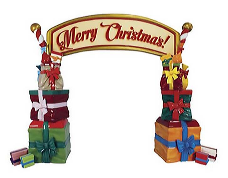 12ft Merry Christmas Photo Op Arch