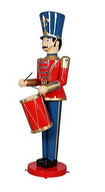 6ft. Toy Soldier with Drum
