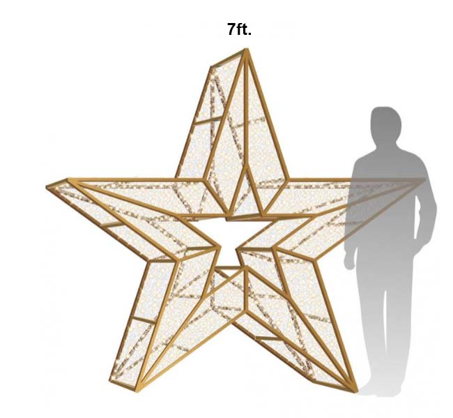 7ft Star Icon Photo Op