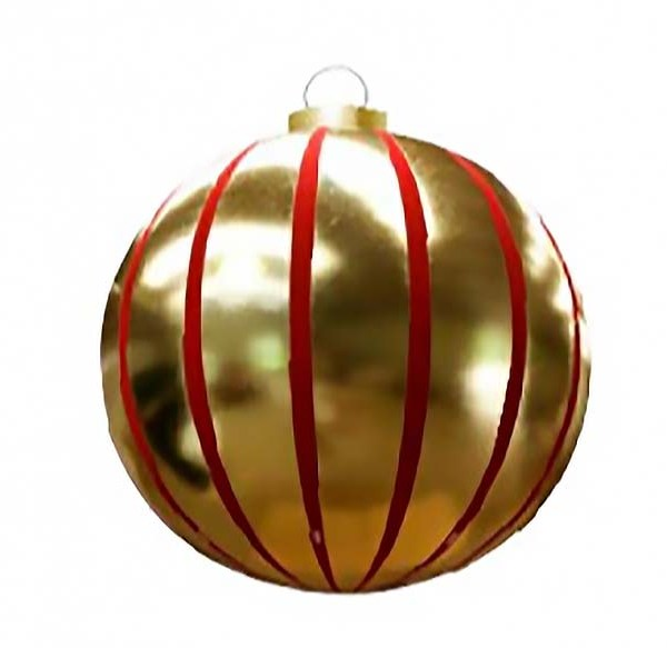 Giant Hanging Round Ornaments 2