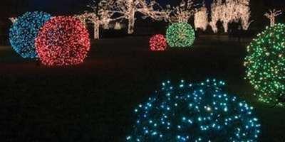 The Grandeur of Grapevine Ball Lights