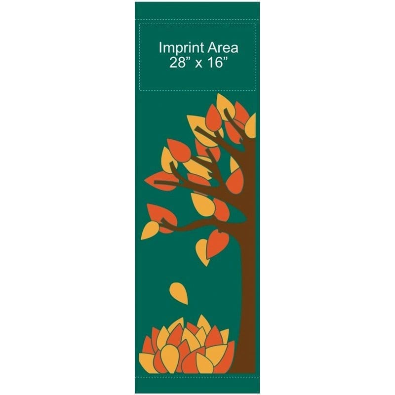 Autumn Leaves 09321 fall winter holiday banner