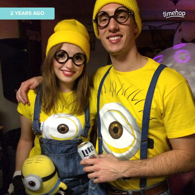 Minions Couple Costume