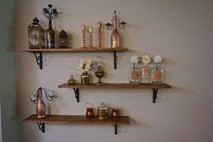 Open Shelving DIY Project