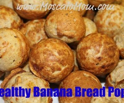 Healthy Banana Bread – Cake Pops