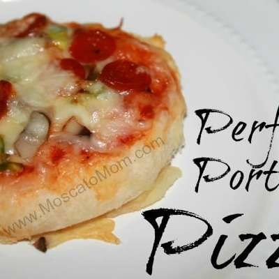 Perfect Portion Pizzas