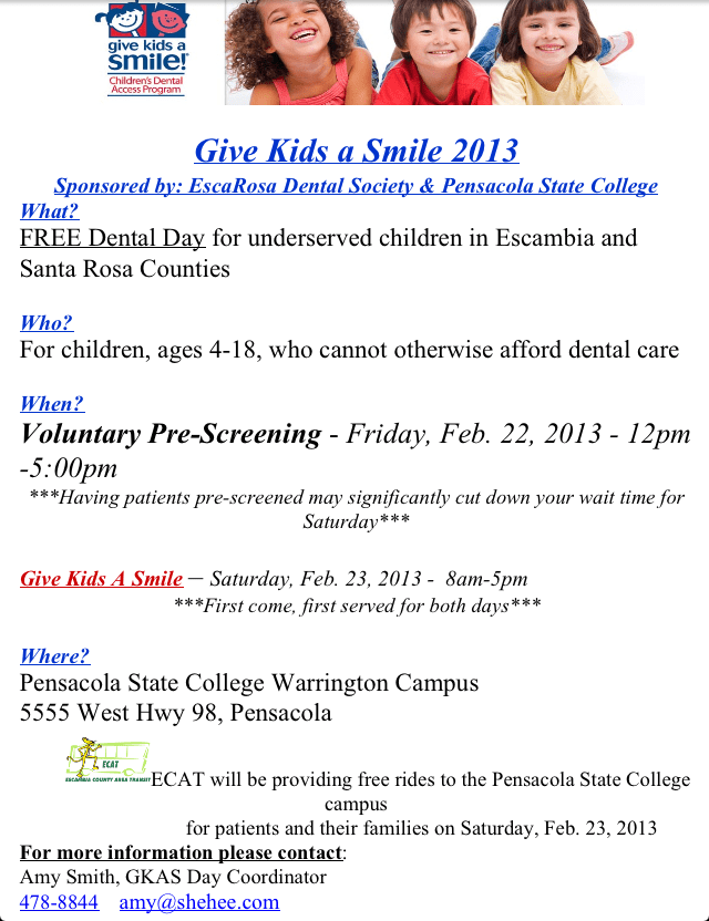 dr shehee give kids a smile pensacola