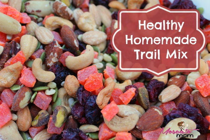 healthy homemade trailmix