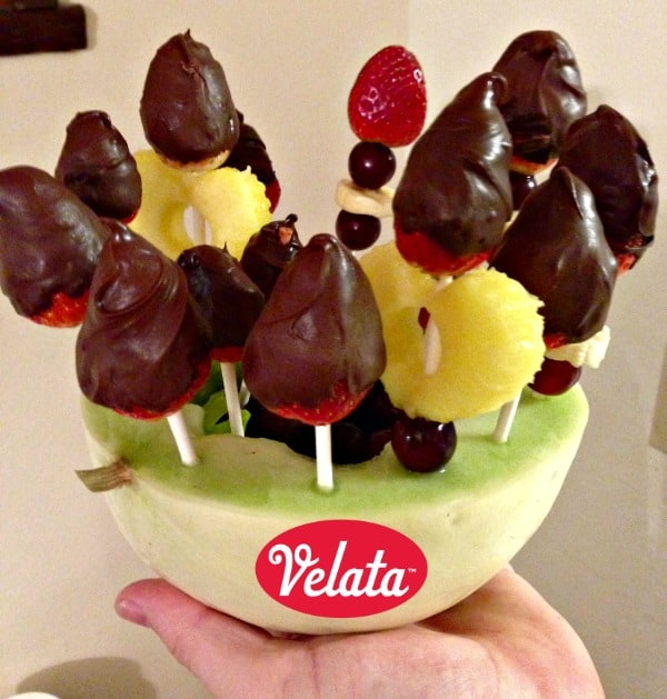 velata chocolate strawberries