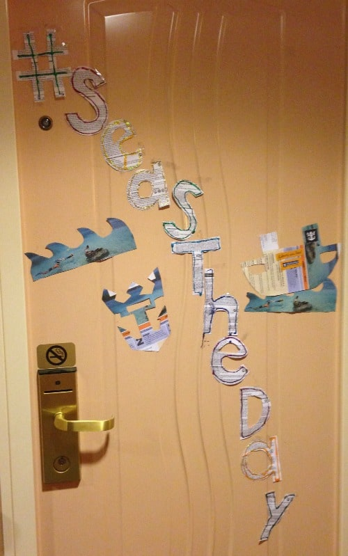 cruise ship door decorations 2