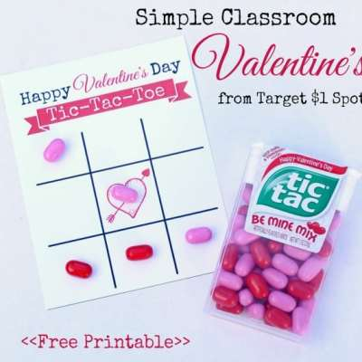Printable Valentine's from Target $1 Spot