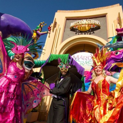 Universal Orlando: Mardi Gras Celebration