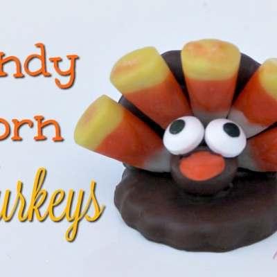 Candy Corn Turkeys