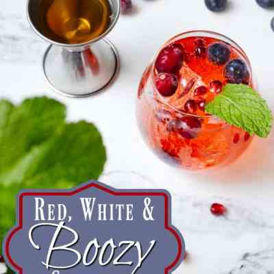 Red, White & Boozy Cocktails for Election Night!