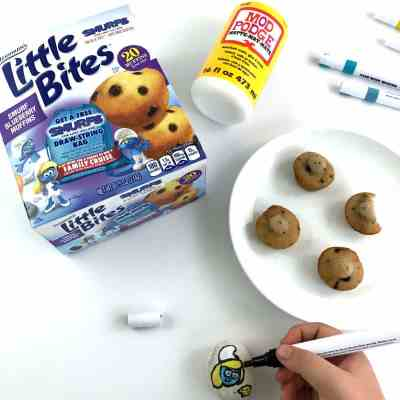 Entenmann's® Little Bites® Smurf Blueberry Muffins