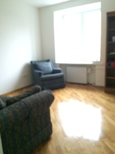 Living room waiting for furniture.