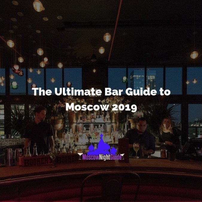 Ultimate Bar Guide Moscow 2019
