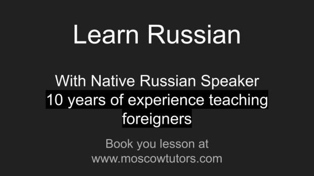 Learn Russian with native speakers
