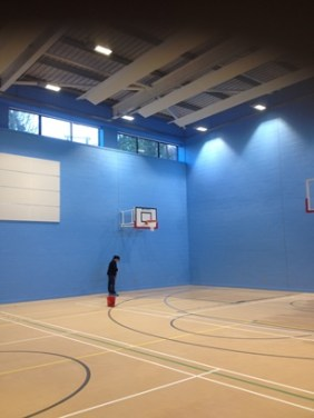 Construction phase - sports hall