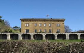 Grade I listed Belsay Hall