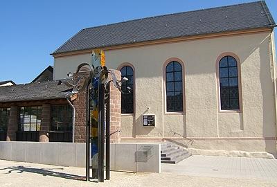 Aussenansicht der Synagoge Schweich