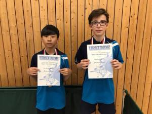 Regionseinzelmeisterschaften Tischtennis