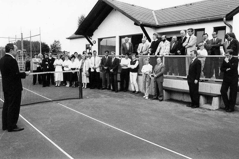 Gründung der Abteilung Tennis