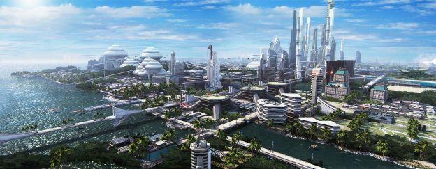 Gleaming Techno City