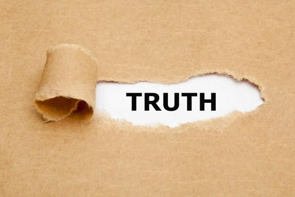 Truth Torn Paper
