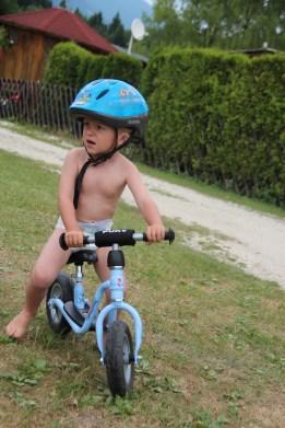 Minstemann på sykkel