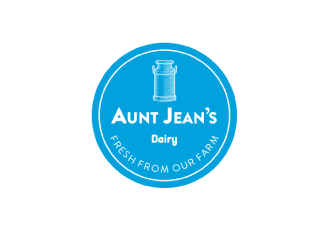 Aunt Jeans Dairy Logo