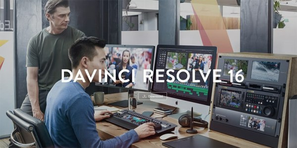 DaVinci resolve editing for video and motion graphics