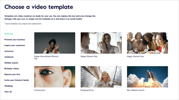 Magisto video presentation tool
