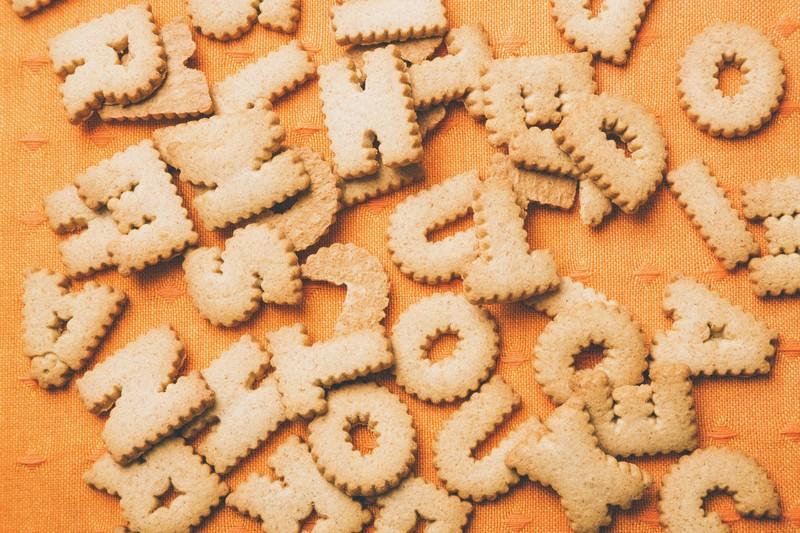 文系について-英語のアルファベット