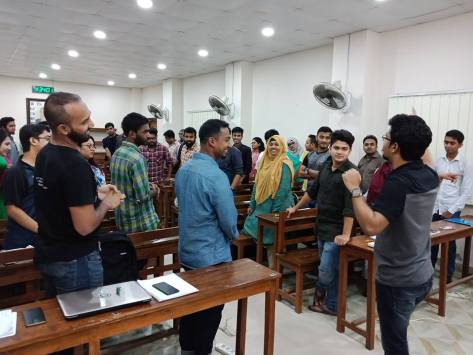 Personal Development Session at Dhaka University - 2nd Batch (Skill Hunt) (9)