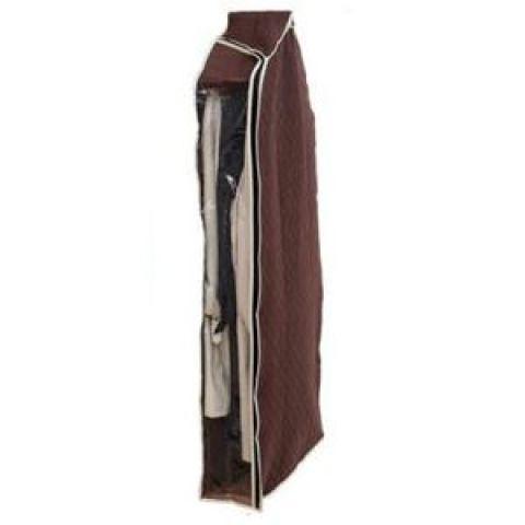 衣替え 洋服カバー 中が見える 炭入り消臭機能付き ロングタイプ 130cm 【×26個セット】