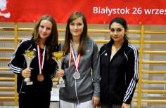 Medalistki Technicznych Mistrzostw Polski w Białymstoku