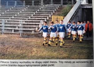 2000. Jesienne spotkanie z Hutnikiem Warszawa.